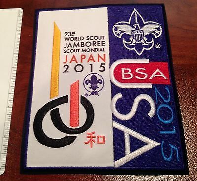 Official USA Contingent Jacket Patch 23rd World Jamboree Yamaguchi Japan 2015