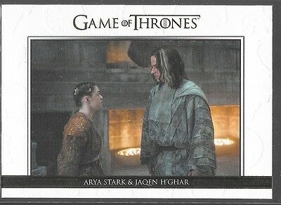 Rittenhouse Game of Thrones Season 5 Relationships Gold Arya Jaqen /225 DL22