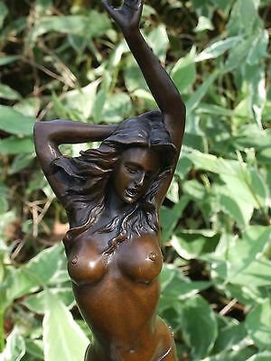 Beautiful Quality Signed Erotic Bronze Statue No Reserve