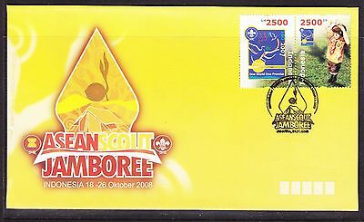 Indonesia 2008 - Scout Jamboree First Day Cover