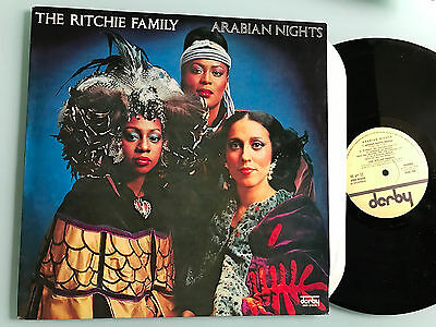 LP NM ITALY   The Ritchie Family – Arabian Nights