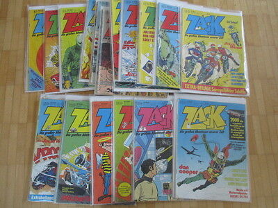 ZACK  Magazin 1977  1 bis 26  komplett  Bagged & Boarded