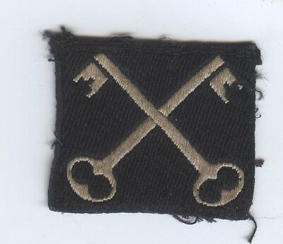 World War 2 Formation Cloth Badge of 2nd Infantry Division of the British Army