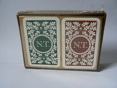National Trust -  Playing Cards - Original packaging