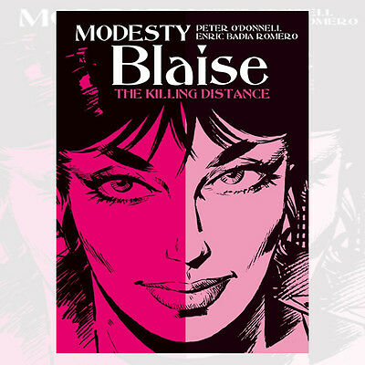 Modesty Blaise The Killing Distance By Peter ODonnell New 9781781167120 Paperbac