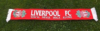 Liverpool Fc You'll Never Walk Alone **Official Scarf**
