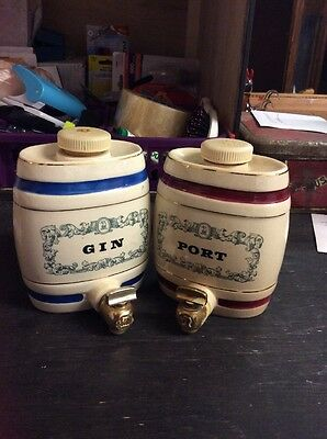 vintage  Royal  Victoria wade  Gin And Port  decanter