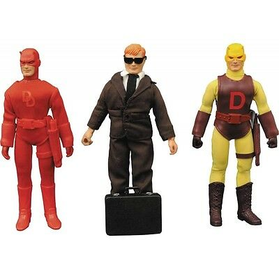 Daredevil (Marvel) Diamond Select Toys 8 Inch Action Figure Set Brand New