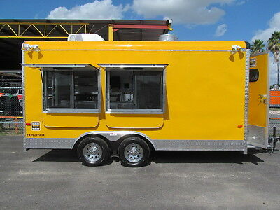 2017 Yellowfood Trailer Concession Truck Stand Cart Bbq Catering Must See This
