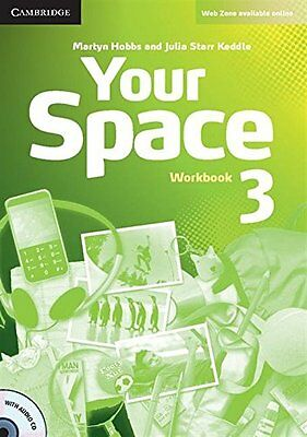 Your Space Level 3 Workbook with Audio CD, UNKNOWN, Very Good condition, Book