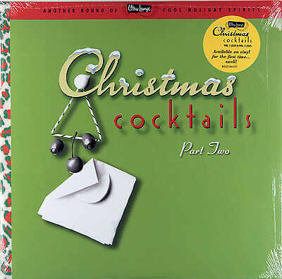 Various - Ultra-Lounge Christmas Cocktails Part Two (2 x Vinyl LP) New & Sealed
