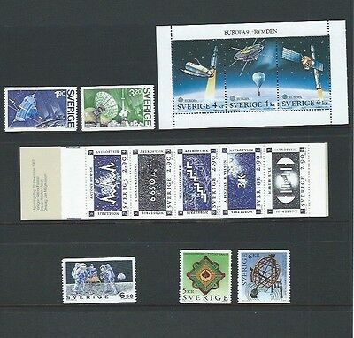 Sweden 5 UMM Issues from 1984 - 1995 cat £25+