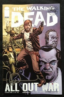 Image Comics The Walking Dead #115 Cover A Signed By Charlie Adlard W/Coa