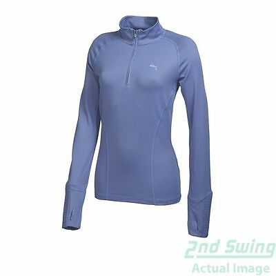 New Womens Puma Ultra Soft DC Golf 1/4 Zip Pullover SM Lavender 569077 MSRP $70