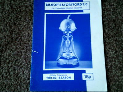 BISHOP'S STORTFORD v MAIDSTONE UNITED,6 FEB 1982 FA TROPHY