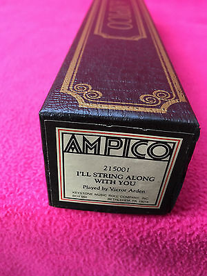 AMPICO piano roll 215001 victor arden I'LL STRING ALONG WITH YOU keystone