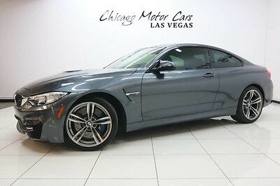 2015 BMW M4  2015 BMW M4 Coupe Big MSRP 6-Speed Manual Transmission! 19 M Alloy Wheels! NAV
