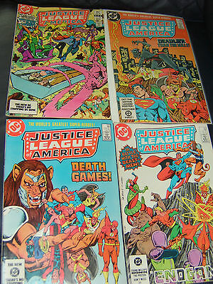 Justice League of America #220,221,222,223 Four Issue Lot 1983/84