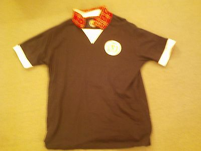 Scotland Old Style Top Tartan Army Issue XL RARE