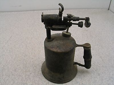 Kerosene Blow Torch Vtg Steam Punk Brass Steampunk Colletable Blowtorch Lighter