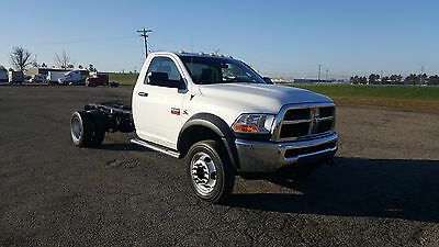 2011 Dodge Ram 5500 Hd , Low Miles , Perfect For Wrecker Body Or Upfit , Sharp!!