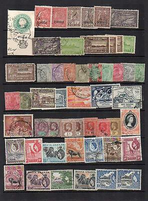 Commonwealth Early to Early Queen Elizabeth II  Stamps Used/Unused See Scans C1