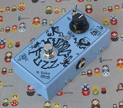 Fredric Effects Mutant Fuzz - Os Mutantes Regulus VIII clone effects pedal