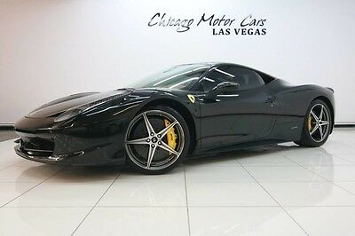 2011 Ferrari 458  2011 Ferrari 458 Italia Coupe Carbon Fiber Everywhere Diamond Wheels LOADED