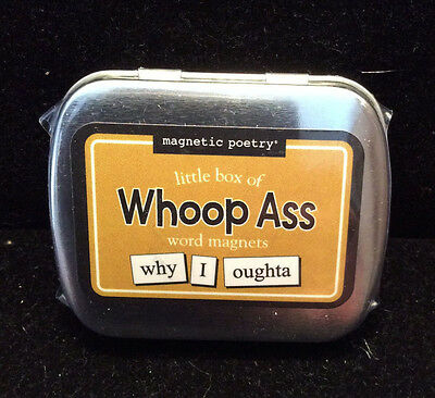 Magnetic Poetry Little Box of WHOOP ASS Word Magnets