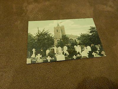 1908 frWH Smith postcard - Old Chiswick Church -London Borough of Hounslow