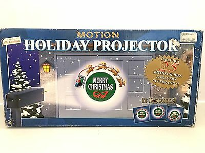 Mr Christmas Holiday Motion Projector 25 Slides Original Box Tested Working