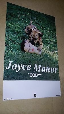 POSTER by JOYCE MANOR cody For the bands tour release album cd