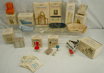 IDEAL Petite Princess Fantasy Dollhouse Furniture Lot