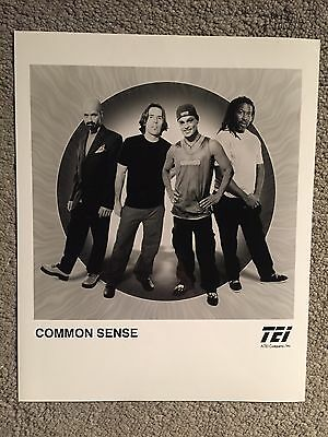 "COMMON SENSE promo only B&W 8""x10"" publicity photo RARE OOP"