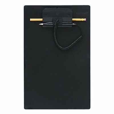 MMF Industries Clipboard with Wedgy Pen, 8.5 x 11 Inches, Black (258470004) New