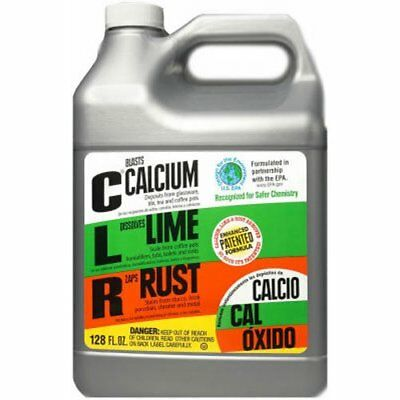 CLR Pro CL-4Pro Calcium, Lime and Rust Remover, 1 Gallon Bottle New