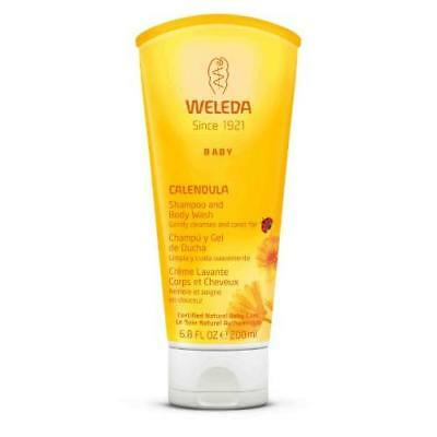 Weleda Calendula Baby Shampoo and Body Wash, 6.8-Ounce New