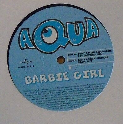 "AQUA - Barbie Girl ~ 12"" Single"