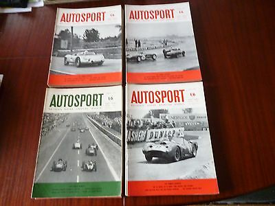 1960 AUTOSPORT MAGAZINES x 52 *CLEAROUT* *READ*