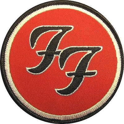 Foo Fighters Aufbügler / Embroidery Patch # 1