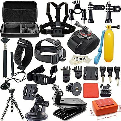 Soft Digits Accessories Kit for GoPro Hero 5 4 3+ 3 2 1 Session Accessory Bundle