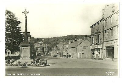 Bakewell - a photographic postcard of the Square