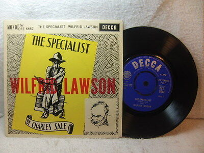 Wilfrid Lawson reads The Specialist by Charles Sale 1960 EP Decca DFE 6662