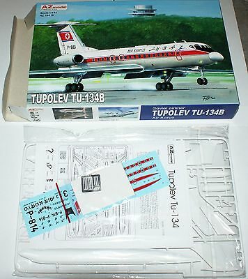 Tupolev Tu-134B (Air Koryo) in 1/144 von AZ-Models