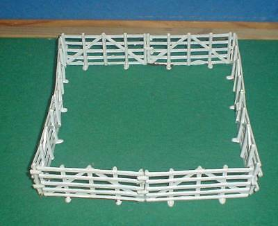 8 CHARBENS 1960's PLASTIC FENCING HURDLES  FROM ORIGINAL 1940's LEAD MOULDS