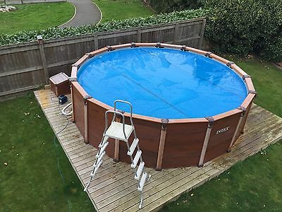 Intex Ultra Set above ground 16' diameter swimming pool