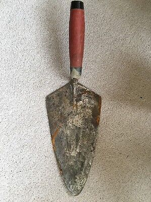 Marshalltown Brick Layers Trowel 10 1/2 Inches Long Collect MK