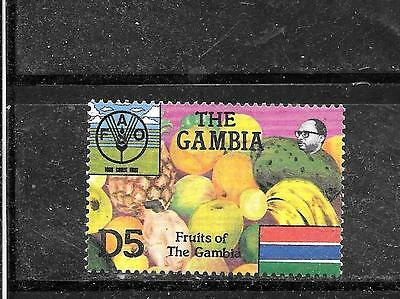 Gambia Sc #584 Mnh-Mint Older 1985 U.n Fao 5D Commemorative Stamp