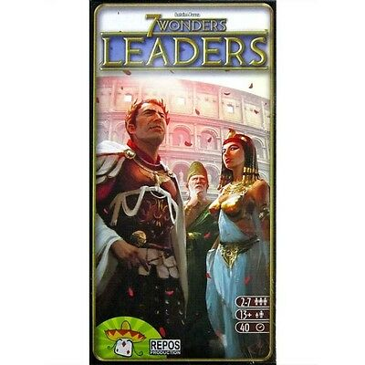 7 Wonders Leaders Expansion Brand New