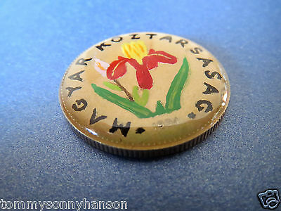 1994 Hungary 20 Forint Hand Enamelled & Finished in a Crystal Clear Resin